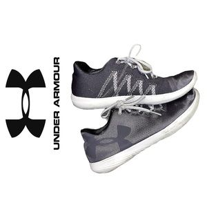 Grey Under Armour Tennis Shoes